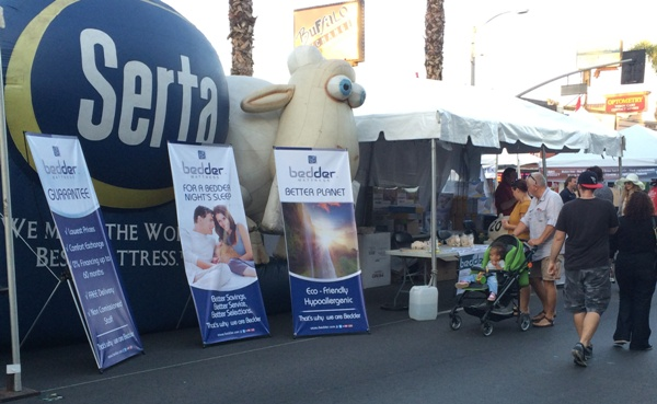 Bedder at Sherman Oaks Street Fair