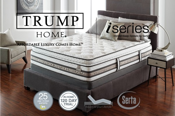 Trump Home iSeries and iSeries Profiles Mattresses