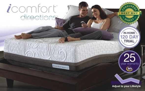 Serta iComfort and iComfort Derections Mattresses