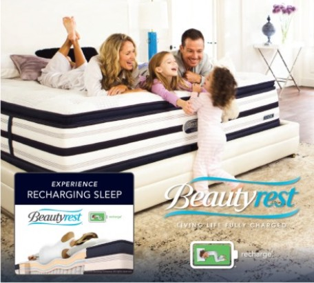 BeautyRest Recharge Mattresses