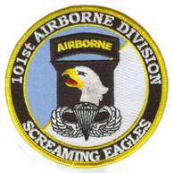 101st Airborne Division Patch with Jump Wings