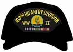 103rd Infantry Division WWII Ball Cap