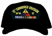 10th Armored Division WWII Ball Cap