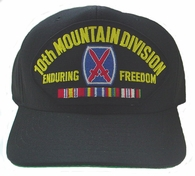 10th Mountain Division OEF Ball Cap