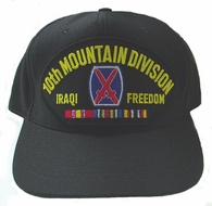 10th Mountain Division OIF Ball Cap