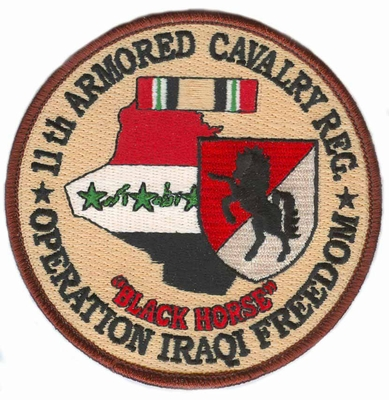 11th ACR Operation Iraqi Freedom Patch