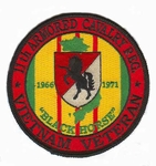 11th Armored Cavalry Vietnam Veteran Patch