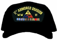 11th Armored Division WWII Ball Cap