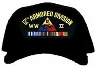 12th Armored Division WWII Ball Cap