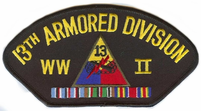 13th Armored Division WWII Patch