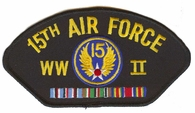15th Air Force WWII Hat Patch