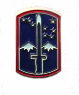 172nd Infantry Regiment Pin