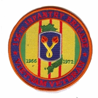 196th Light Infantry Brigade Vietnam Veteran Patch