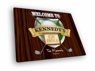 19th Hole Welcome Mat