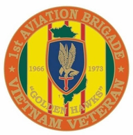 1st Aviation Brigade Vietnam Veteran Pin