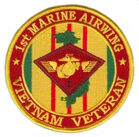 1st Marine Airwing Vietnam Veteran Patch