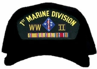 1st Marine Division WWII Ball Cap