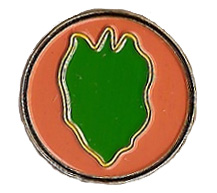 24th Infantry Division Pin