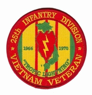 25th Infantry Division Vietnam Veteran Patch