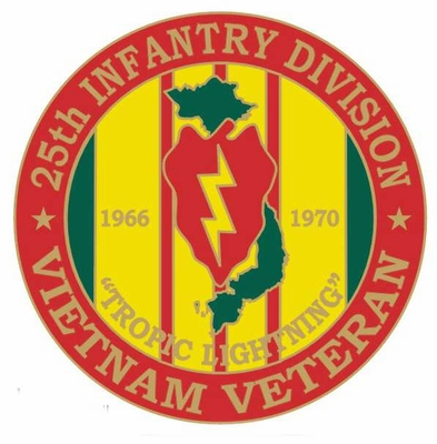 25th Infantry Division Vietnam Veteran Pin