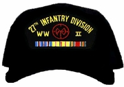 27th Infantry Division WWII Ball Cap