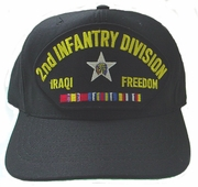2nd Infantry Division OIF Ball Cap