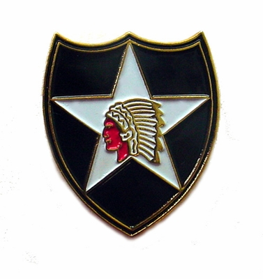 2nd Infantry Division Pin