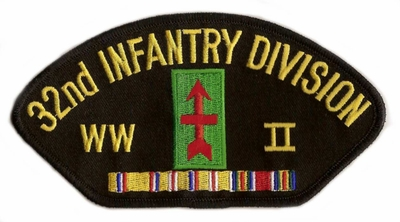 32nd Infantry Division WWII Hat Patch
