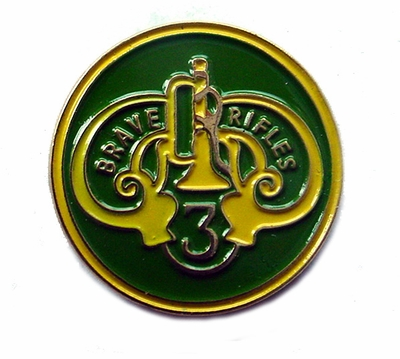 3rd Armored Cavalry Regiment Pin