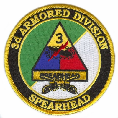 3rd Armored Division Patch with Sabres