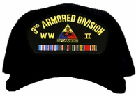 3rd Armored Division WWII Ball Cap