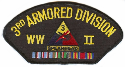 3th Armored Division WWII Patch