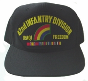 42nd Infantry Division OIF Ball Cap