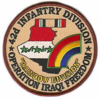 42nd Infantry Division Operation Iraqi Freedom Patch