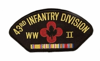 43rd Infantry Division WWII Patch