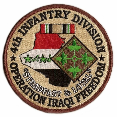 4th Infantry Division Operation Iraqi Freedom Patch