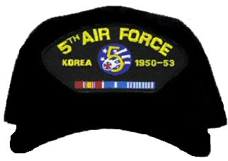 5th Air Force Korea Ball Cap