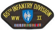 65th Infantry Division WWII Patch