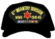 6th Infantry Division WWII Ball Cap