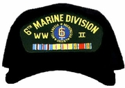 6th Marine Division WWII Ball Cap