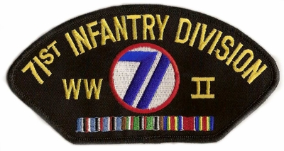 71st Infantry Division WWII Patch