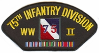 75th Infantry Division WWII Patch