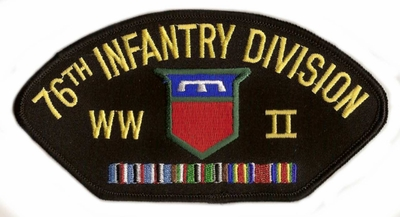 76th Infantry Division WWII Hat Patch