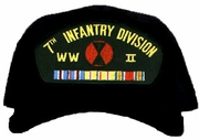 7th Infantry Division WWII Ball Cap