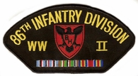 86th Infantry Division WWII Hat Patch