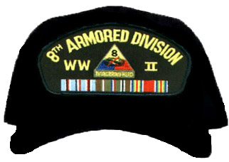 8th Armored Division WWII Ball Cap