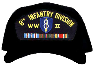 8th Infantry Division WWII Ball Cap