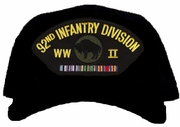 92nd Infantry Division WWII Ball Cap