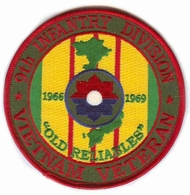 9th Infantry Division Vietnam Veteran Patch
