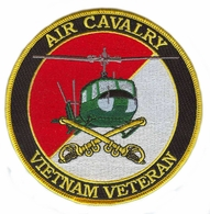 Air Cavalry Vietnam Veteran Patch
